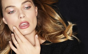 Picture actress, blonde, lips, beauty, lips, blonde, margot robbie, Margot Robbie