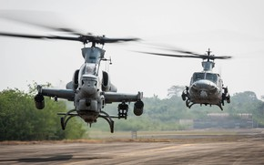 Picture Helicopter, UH-1Y Venom, US Marine Corps, AH-1Z Viper
