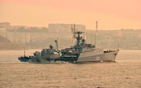 Picture ship, anti-submarine, small, Muromets