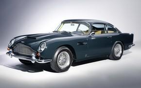 Picture retro, coupe, aston martin, db5