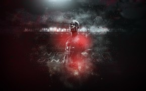 Picture wallpaper, sport, stadium, football, Manchester United, Old Trafford, player, Paul Pogba