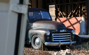 Picture 150, pickup, 2018, the front part, GMC, 1949, ICON, Long Bed Derelict, GMC 150