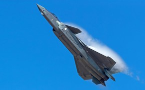 Picture Fighter, J-20, Chengdu J-20, The Effect Of Prandtl — Glauert, AIR FORCE CHINA