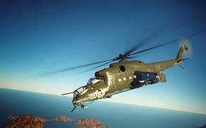 Picture Crocodile, War Thunder, MI-24D