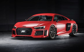 Picture Audi R8, front view, ABBOT, V10, More, 2017
