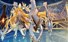 Picture Girl, Anime, Armor, Elsword