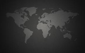 Picture earth, the world, black background, world map, the continent