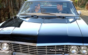 Picture the series, Dean, Supernatural, Supernatural, impala, Sam