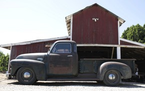 Picture 150, pickup, 2018, GMC, in profile, 1949, ICON, Long Bed Derelict, GMC 150