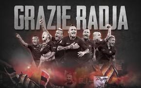 Picture wallpaper, sport, football, player, AS Roma, Radja Nainggolan