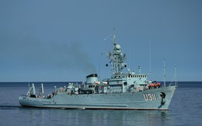 Picture sea, minesweeper, Cherkassy