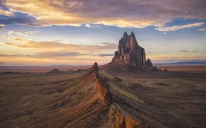 Picture clouds, rock, valley, rock, clouds, valley, Michael Zheng