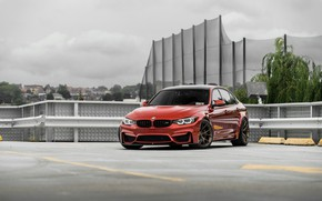 Picture BMW, Predator, RED, Roof, F80, Sight