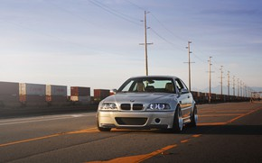 Picture bmw, sunset, e46