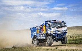 Picture Auto, Sport, Machine, Speed, Truck, Race, Master, Russia, Race, Russia, Speed, 300, Kamaz, Rally, KAMAZ-master, …