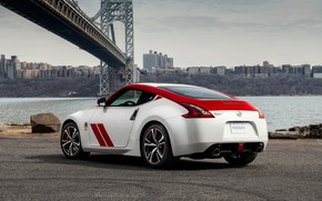 Picture asphalt, coupe, Nissan, red-white, 370Z, 50th Anniversary Edition, 2020, 2019