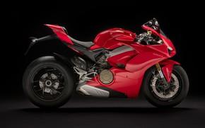 Picture Profile, Ducati, 2018, Panigale, Sportbike, V4 S, Ducati Panigale V4 S
