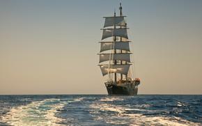 Picture sea, romance, sailboat