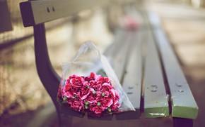Picture Flower, Wallpaper, Bouquet, Carnations