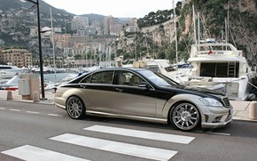 Picture Mercedes-Benz, sedan, Carlsson, W221, Aigner, Blanchimont, The S-class, CK65 RS, the fifth generation of its …