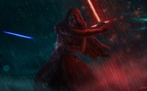 Picture Star Wars, Sword, Fantasy, Art, Lightsaber, Sith, Characters, Kylo Ren, Kyle Wren, madeinkipish, Daniel Ang, ...