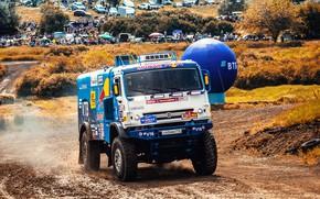 Picture Auto, Sport, Machine, Truck, Race, Master, Russia, Kamaz, Rally, KAMAZ-master, Rally, KAMAZ, 507, The front, …