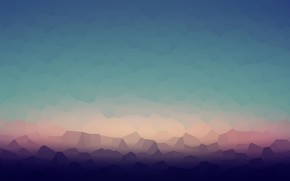 Picture background, vector, gradient, texture, polyhedra, color transition