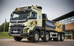 Picture lights, Volvo, truck, cabin, body, wheel, truck, FMX, dump truck, 8x4, lorry, Volvo FMX, Volvo …