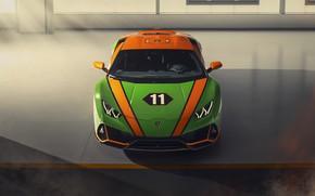 Picture machine, Lamborghini, Evo, Huracan, GT Celebration
