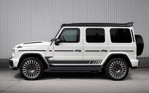 Picture Mercedes-Benz, side view, AMG, Inferno, G-Class, Gelandewagen, Ball Wed, G63, Edition 1, 2019