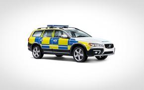 Picture volvo, xc70, united kindom, police car