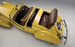 Picture Salon, Bugatti, Classic, Chrome, 1935, Classic car, Gran Turismo, Hammer, Type 57, Bugatti Type 57 ...
