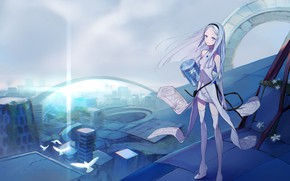 Picture girl, fiction, anime