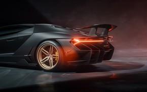 Picture rendering, lights, Lamborghini, supercar, Centennial