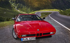 Picture red, BMW, front, BMW M1, E26, M1