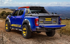 Picture Concept, Nissan, rear view, pickup, 2018, Sentinel, Frontier