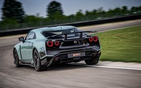 Picture track, back, Nissan, GT-R, R35, Nismo, ItalDesign, 2020, V6, GT-R50, 720 HP