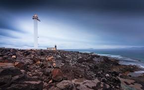 Picture lighthouse, Spain, San Jacinto, Islas Canarias