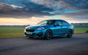 Picture the evening, BMW, Gran Coupe, UK-spec, 2-Series, M Sport, 2020, 218i, F44