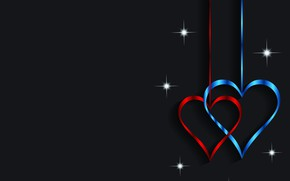 Picture heart, graphics, Valentine's Day