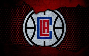 Picture wallpaper, sport, logo, basketball, NBA, Los Angeles Clippers