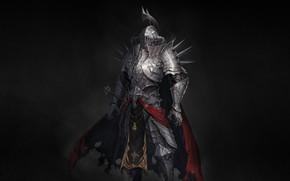 Picture Minimalism, Armor, Warrior, Fantasy, Knight, Illustration, Knight, Pearls, Medieval, Armor, Paladin Knight, Thorns Knight, Daniel …