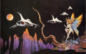 Picture Frank Frazetta, Dream Flight -, Xxx 1756