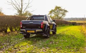 Picture black, rear view, pickup, Isuzu, 2020, Arctic Trucks, D-Max, UK version, AT35