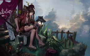 Picture Girl, Style, Girl, Sword, Art, Art, Style, Katana, Katana, Sword, DR. GOOD, by DR.BONO