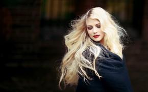 Picture girl, face, woman, hair, portrait, beauty, blonde, long hair