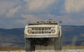Picture tuning, Ford, front, 1966, 2018, Bronco, ICON Bronco Derelict Roadster