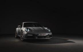Picture background, coupe, 911, Porsche, dark, Carrera 4S, 992, 2019