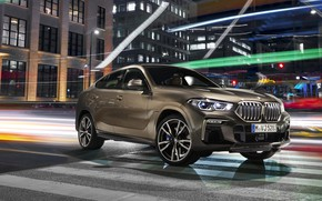 Picture BMW, BMW X6, crossover, 2019, M50i