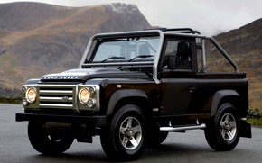 Picture black, 2008, Land Rover, Defender, SVX, 60th Anniversary Edition
